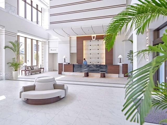 アラマハイナ コンドホテル ロビー