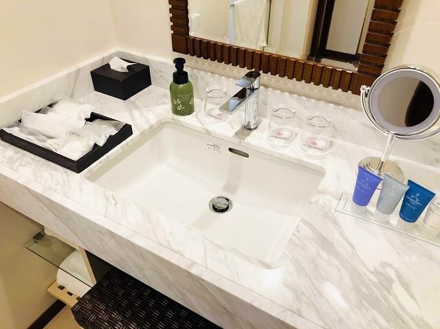 アラマハイナ コンドホテル 水回りスペース