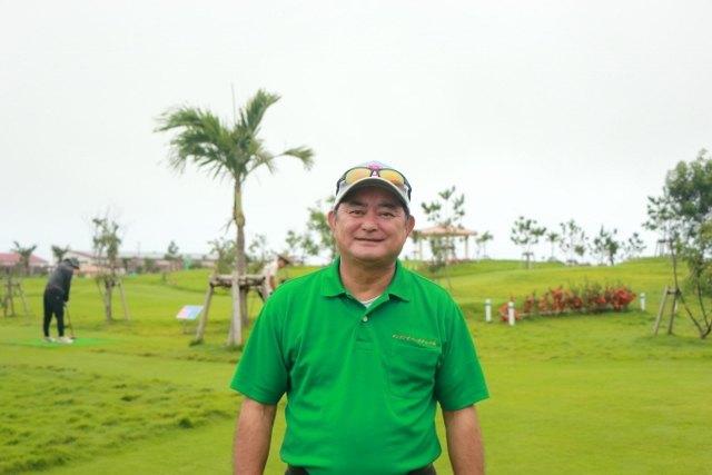 沖縄 パークゴルフ チーフマネージャー 大城さん