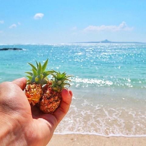 沖縄 インスタ映え 女子旅 エメラルドビーチ