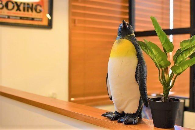 氷ヲ刻メ ペンギン オブジェ