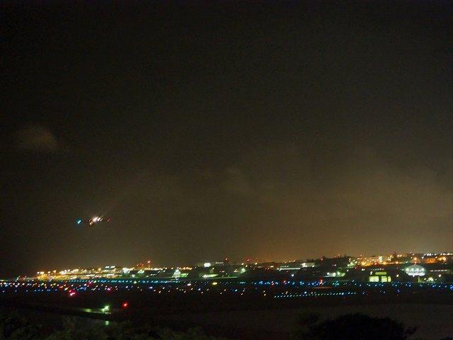 沖縄 夜ドライブ 瀬長島サンセットパーク