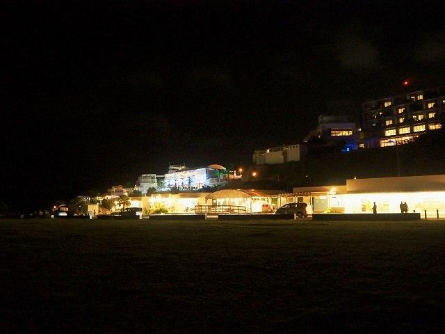 沖縄 夜ドライブ ウミカジテラス