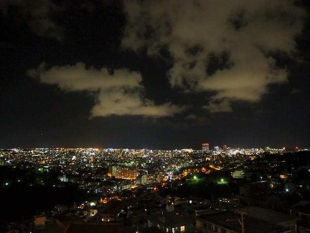 沖縄 夜ドライブ 雨乞嶽 展望台