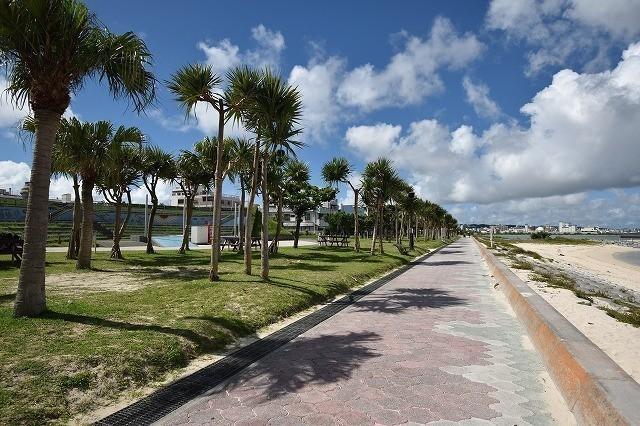 BIGNOT アラハビーチ 遊歩道