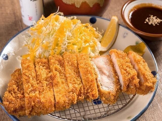 沖縄 2泊3日 モデルコース 沖縄とんかつ食堂しまぶた屋久茂地店 やんばる島豚あぐーのとんかつ