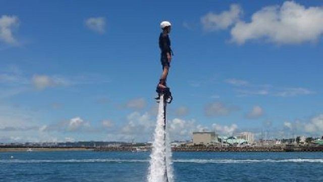 沖縄 2泊3日 モデルコース KJ MARINE フライボード