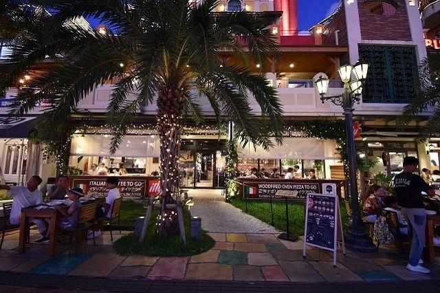 北谷 サンセットディナー Pizzeria Bar Ariccia 外観