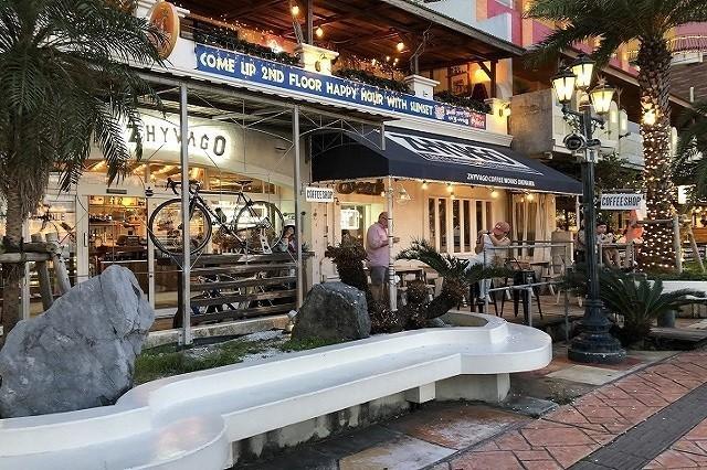 北谷 サンセットディナー ZHYVAGO COFFEE WORKS OKINAWA 店舗外観