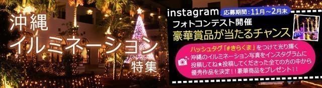 しろくまツアー 沖縄イルミネーション特集 バナー