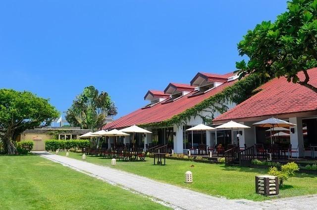 オクマプライベートビーチ&リゾート サーフサイド・カフェ テラス席
