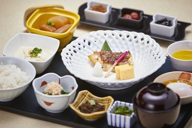 ANAインターコンチネンタル石垣リゾート 日本料理 八重山 和食御膳の朝食