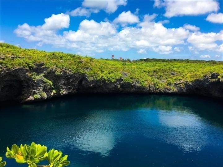 伊良部島 下地島 観光スポット 通り池
