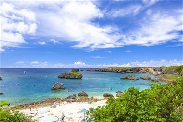 伊良部島 下地島 観光スポット 中の島ビーチ