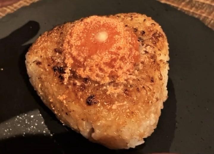宮古島 居酒屋 わとわ 明太バターあぶり焼きおにぎり