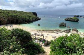中の島ビーチのアクセス|天然の水族館でシュノーケリングしたい!