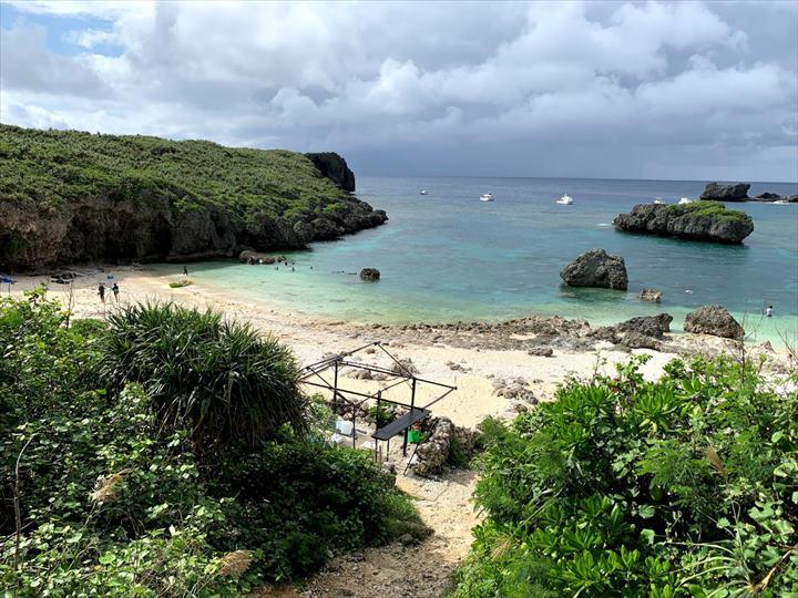 中の島ビーチ カヤッファビーチ