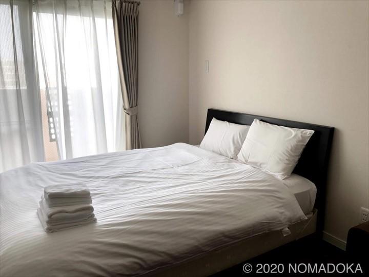 沖縄長期滞在 宜野湾 ミスターキンジョー ベッド