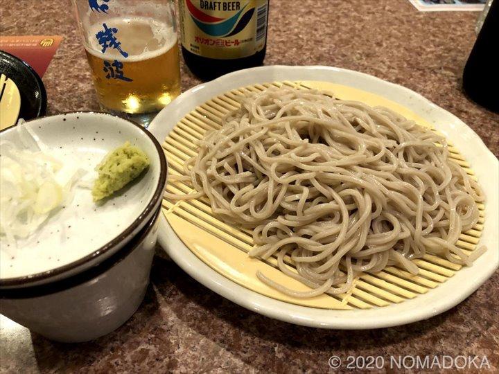 栄町市場 センベロ tamaki屋 蕎麦 白