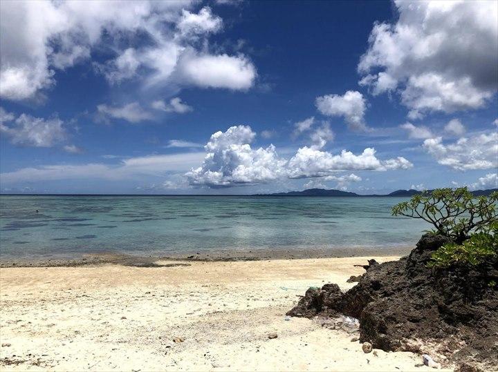 タバガービーチ 海