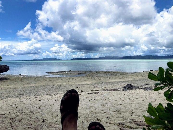 タバガービーチ ブランコ