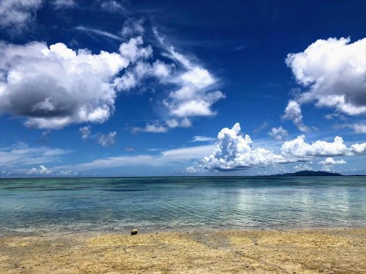 タバガービーチ 撮影場 海