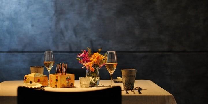 星のや沖縄 ダイニング テーブルウェア イメージ