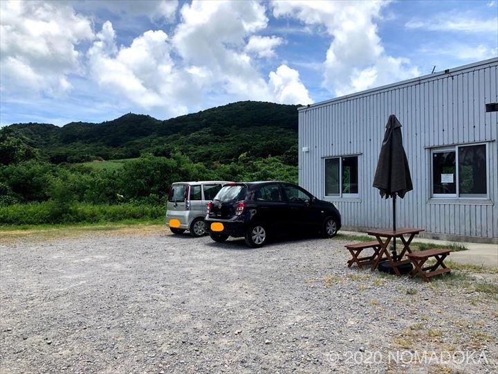 石垣島 パン屋 ishigakilabo 駐車場