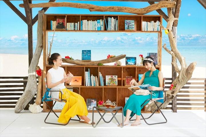 リゾナーレ小浜島 books&cafe