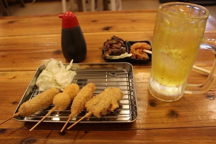 コザ センベロ 串カツチャンピオン 料理 串揚げ
