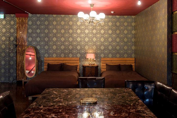 トリップショットホテルズコザ 客室 セントラル ベッド