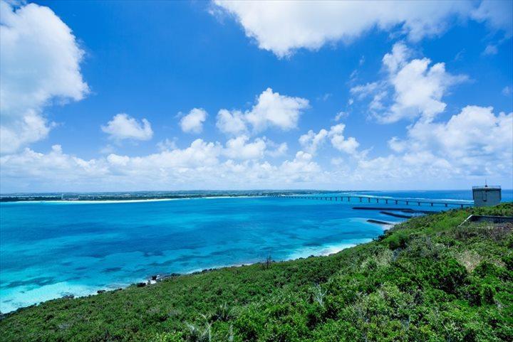 来間島から 与那覇前浜ビーチ