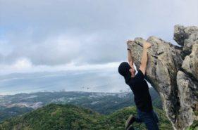 嘉津宇岳山頂の爽快フォトスポットを目指して|初心者向けとは思えない悪路を行く
