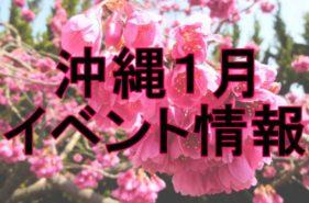 1月の沖縄 イベントまとめ