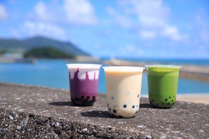 久米島 グルメ YUNAMI FACTORY BOBA タピオカドリンク