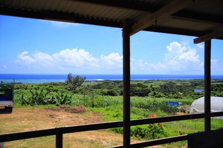 久米島 グルメ 山里ゆんたく市場 沖縄そば 内観