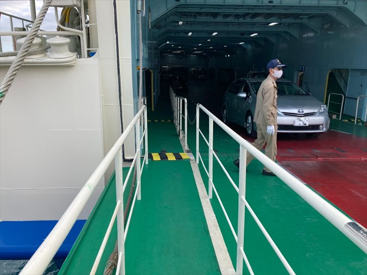 伊江島 フェリー 乗船