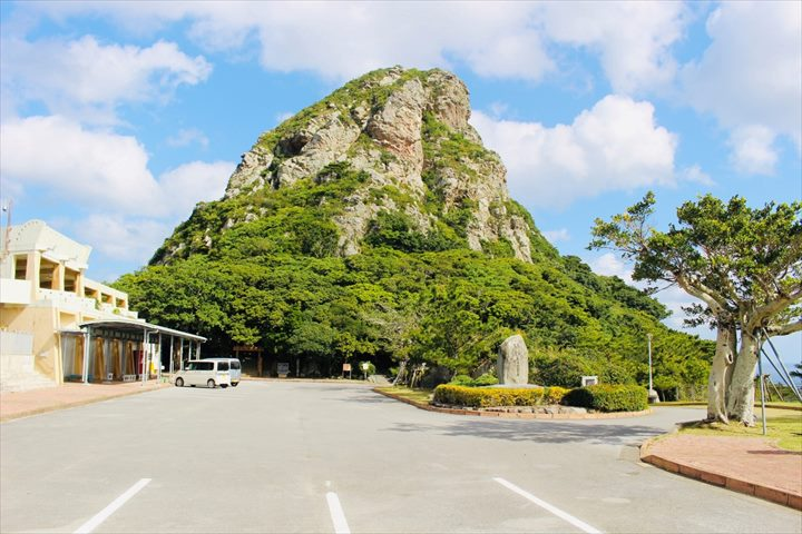 伊江島 タッチュー 登山口