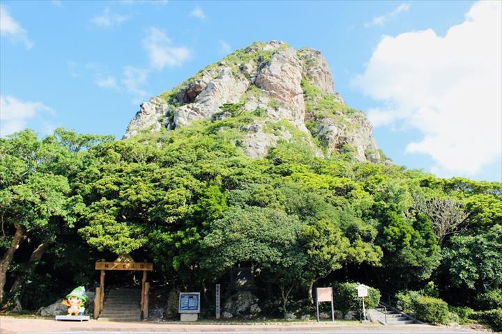 伊江島 観光 タッチュー 城山