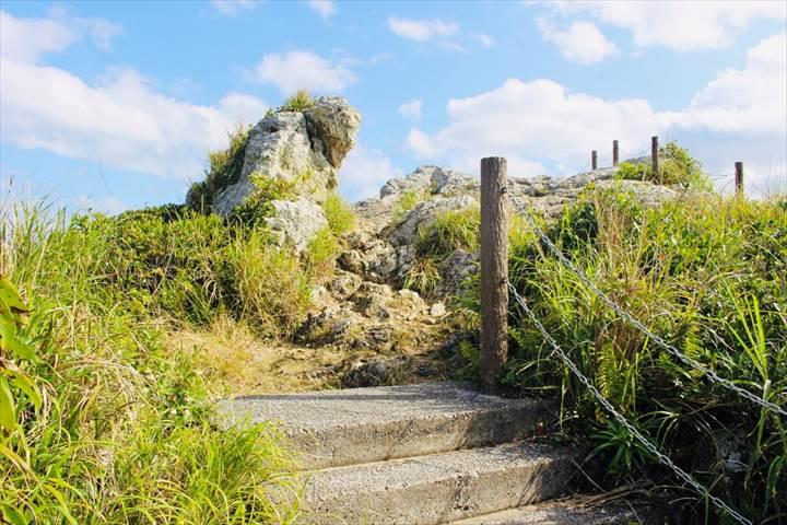 伊江島 タッチュー 頂上