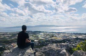 伊江島タッチュー20分のお手軽登山で城山の絶景