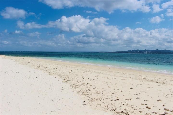 伊江島 ビーチ 北側のビーチ
