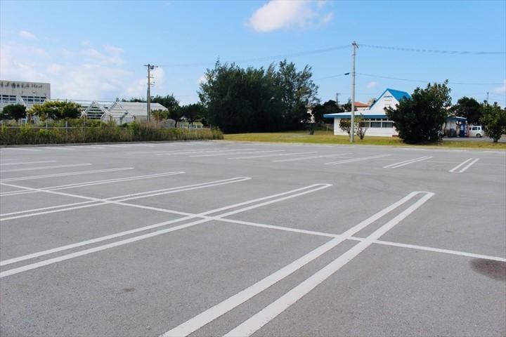 伊江島 伊江ビーチ 駐車場