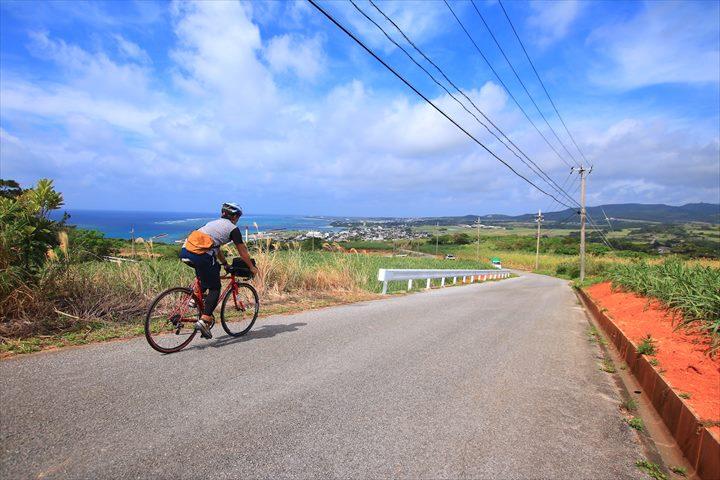 久米島一周 ロードバイク