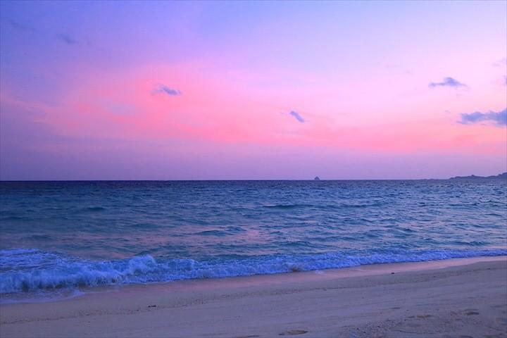 久米島 一周 はての浜サンセットツアー