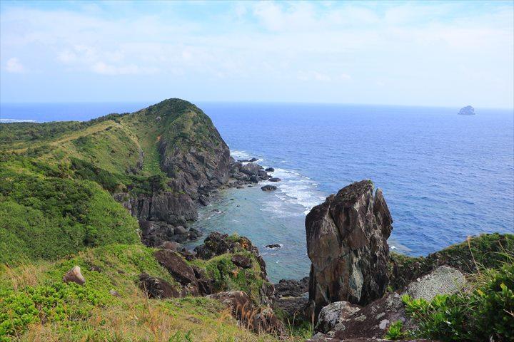 久米島 一周 鳥の口