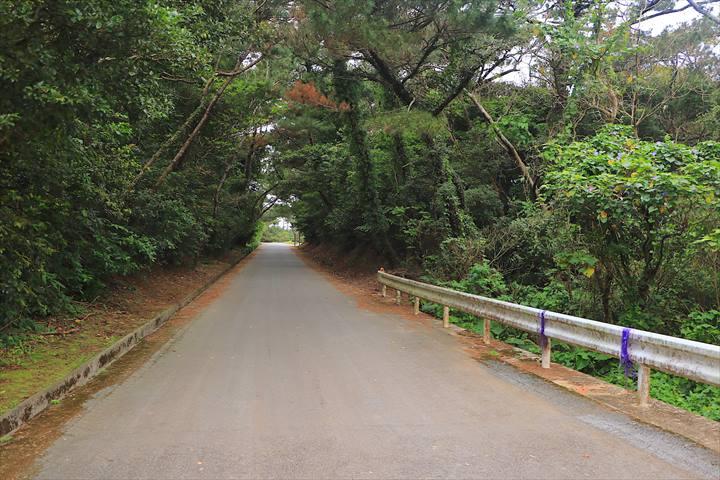 久米島 一周 おばけ坂