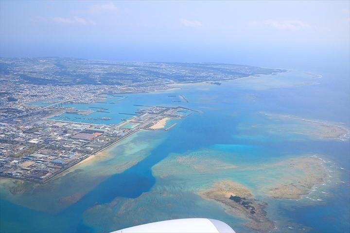 久米島 周遊 飛行機