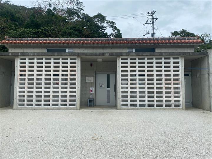 ター滝 駐車場 公衆トイレ