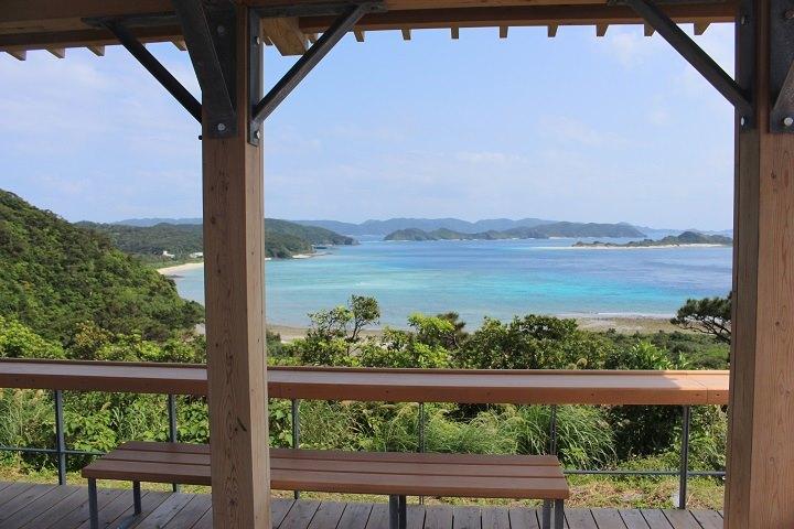 座間味島 観光 神の浜展望台